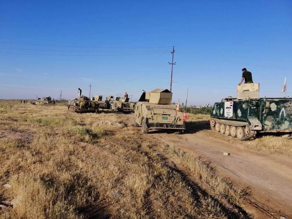 """صد هجوم لـ""""داعش"""" جنوب الموصل و""""الحشد"""" ينهي عمليته في الأنبار"""