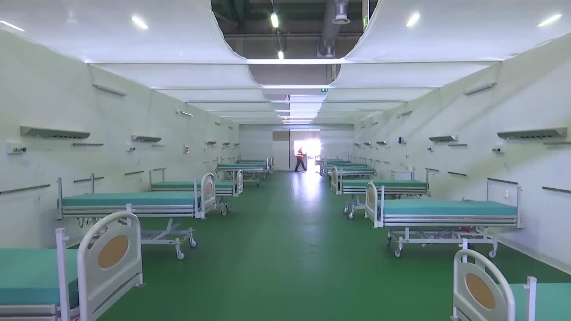 الجيش الروسي يجهز مستشفى ميداني في إيطاليا لعلاج مرضى كورونا