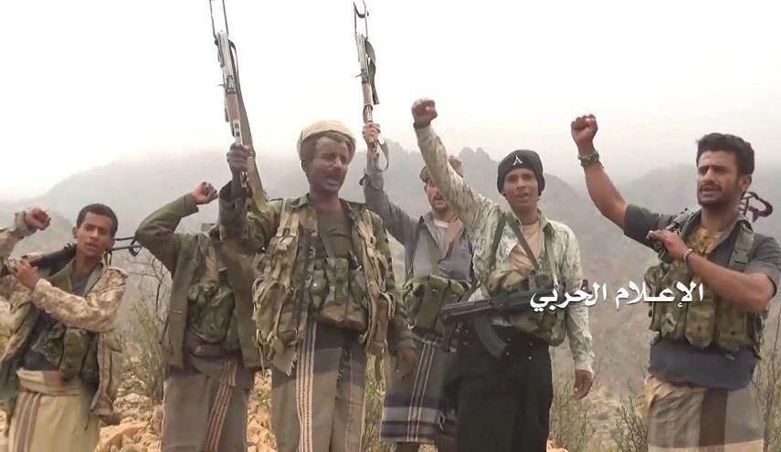 القوات المسلحة اليمنية تصد زحفين للتحالف في جبل قنبورة بين جيزان  وصعدة