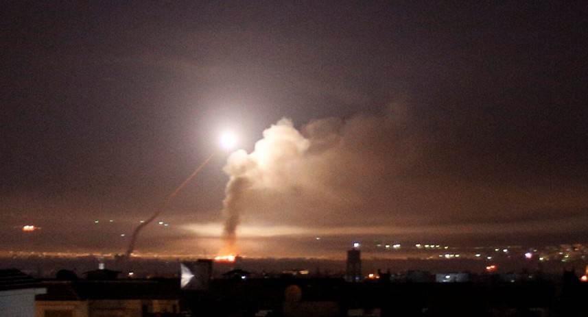 اعتداء إسرائيلي على القنيطرة السورية والأضرار مادية