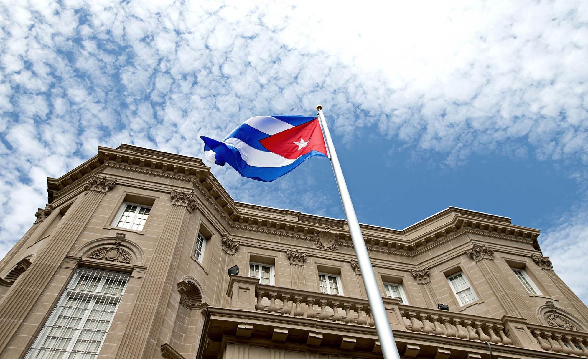 رجلٌ يطلق النار على السفارة الكوبية في واشنطن بهدف القتل
