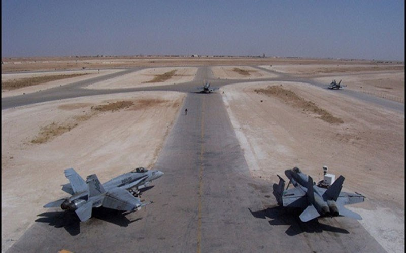القوات الأميركية غادرت قاعدة