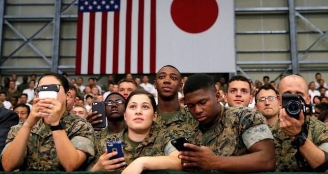 حالة طوارئ في قواعد القوات الأميركية في اليابان