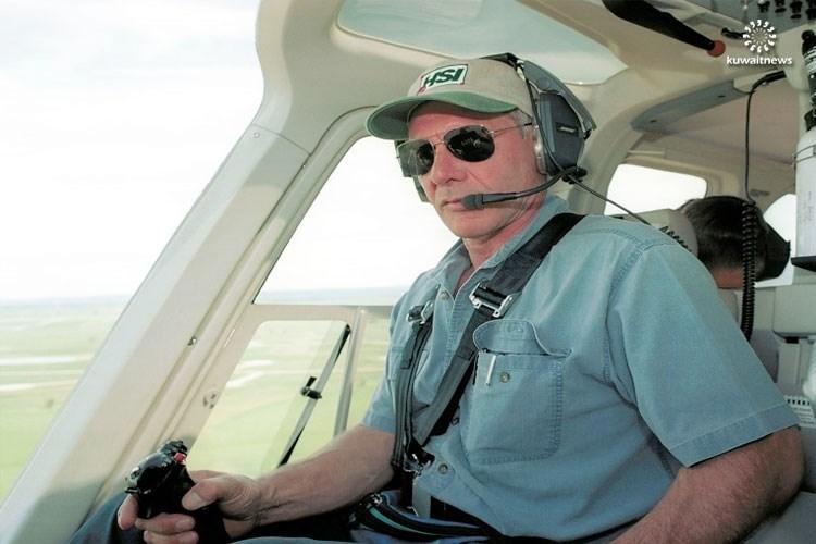 """""""هاريسون فورد"""" نجا للمرة الثالثة من كارثة طيران"""