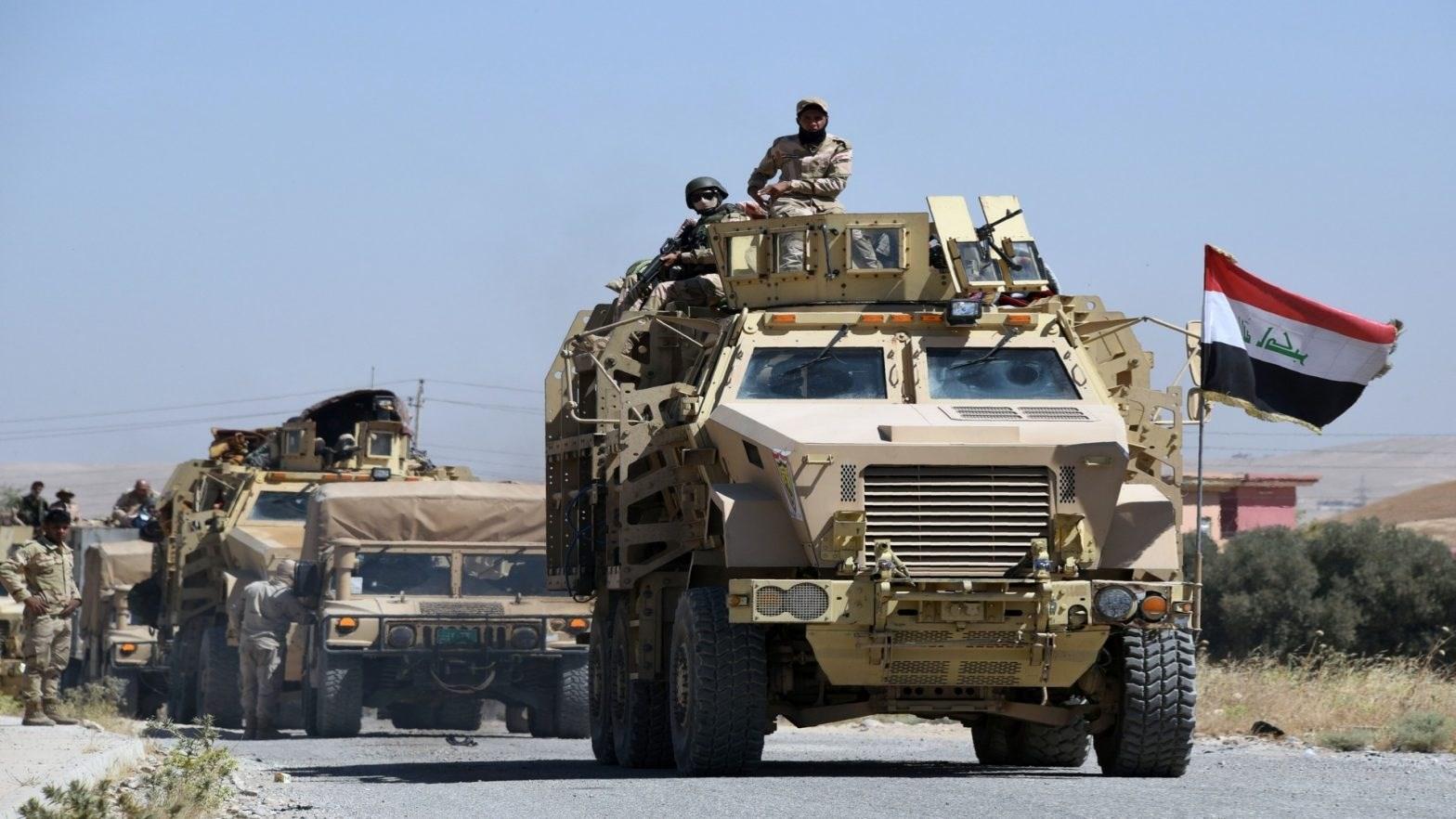 """الحشد الشعبي يحبط محاولة تسلل لـ""""داعش"""" في جبال حمرين"""