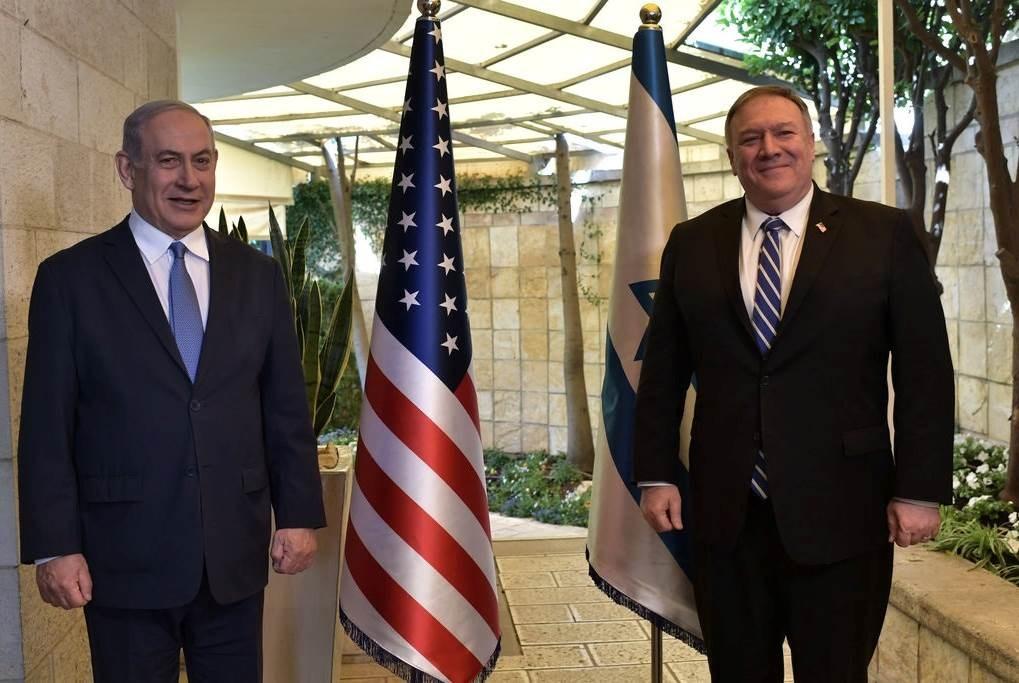 """""""نيويورك تايمز"""": بومبيو ونتنياهو ناقشا الهجوم الإلكتروني الإيراني على شركة المياه الإسرائيلية"""