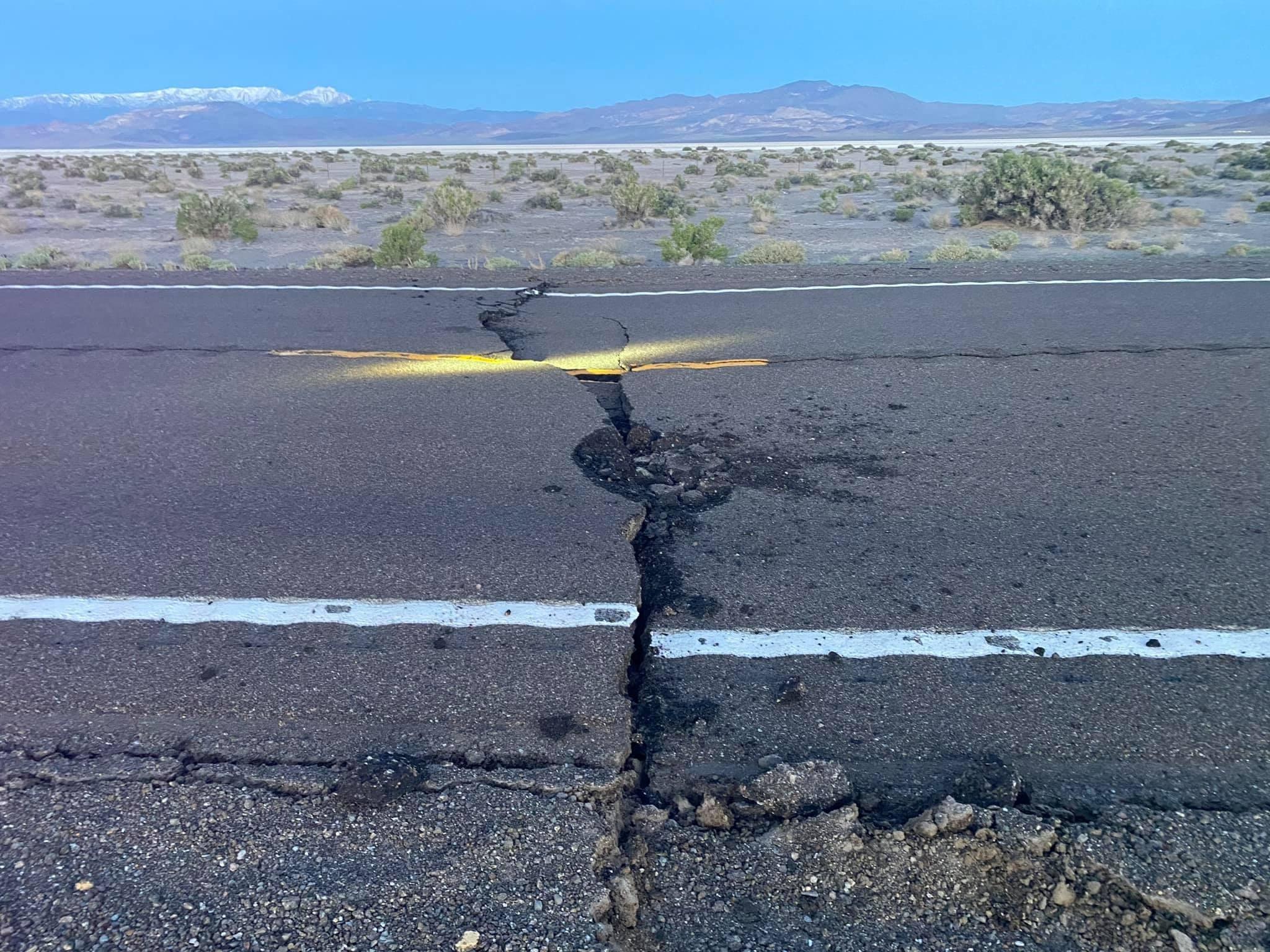 زلزال بقوة 6.4 درجة يضرب ولاية نيفادا الأميركية