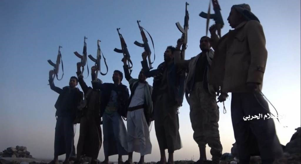 مشاهد لاستعادة القوات اليمنية مواقع شرق محافظة البيضاء