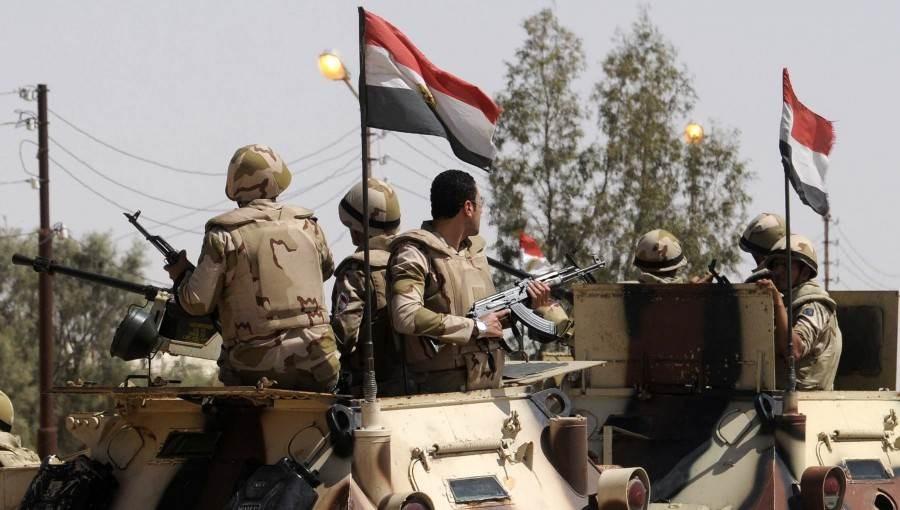الجيش المصري يعلن مقتل 7 إرهابيين في عملية شمال سيناء