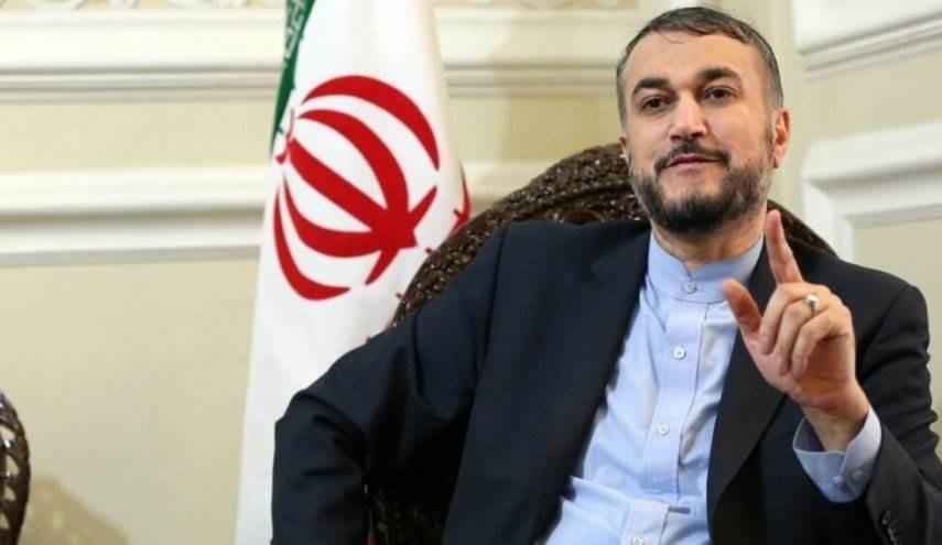 """عبد اللهيان يدحض الشائعات حول الأسد: """"كذبة كبيرة"""""""
