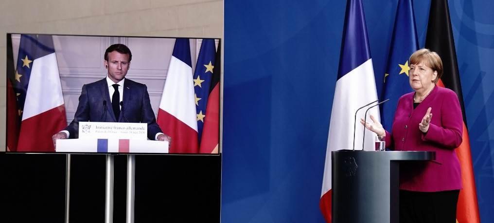فرنسا وألمانيا تقترحان خطة نهوض اقتصادية بقيمة 500 مليار يورو