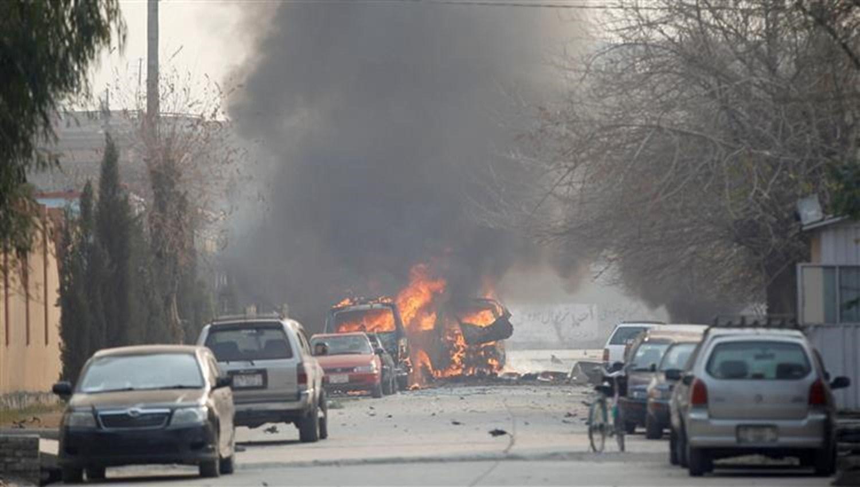 بعد اتفاق تقاسم السلطة والمصالحة الأفغانية.. تفجير يهز شرق البلاد