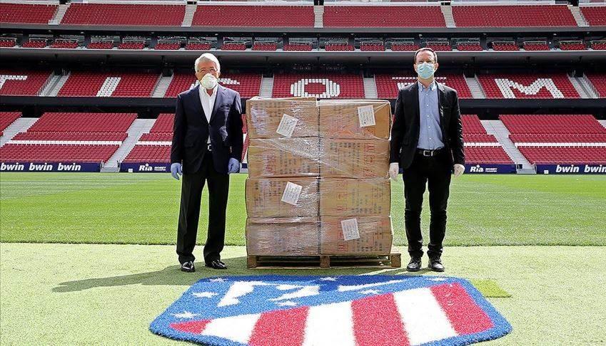 أتلتيكو مدريد يشكر المتضامنين مع حملته