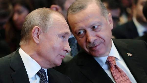 الكرملين: بوتين وإردوغان ناقشا هاتفياً الوضع في سوريا وليبيا