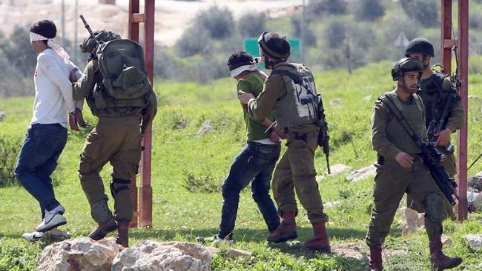 قوات الاحتلال تعتقل 14 فلسطينياً من الضفة بينهم محررون وأشقاء