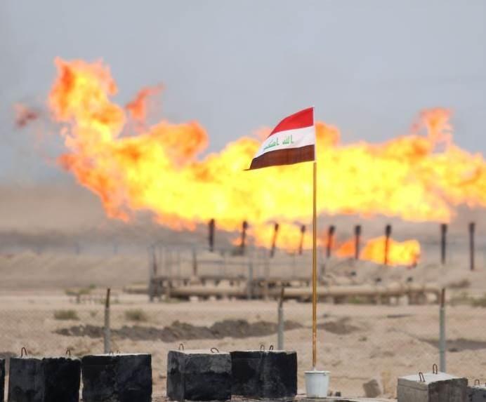 إيرادات النفط العراقية تنخفض خمسة أضعاف خلال عام