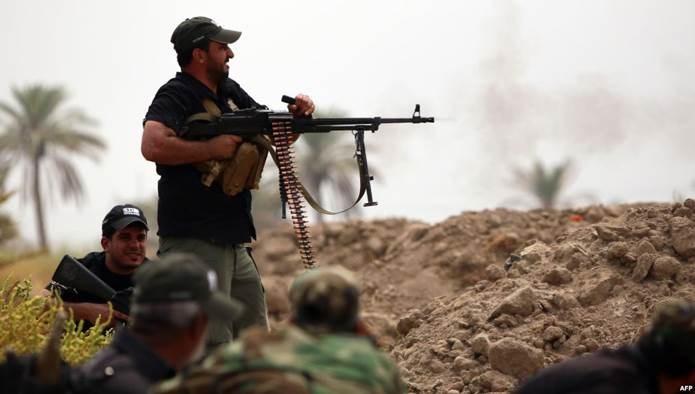 شهداء من الحشدين الشعبيّ والعشائري خلال التصدي لهجوم لداعش