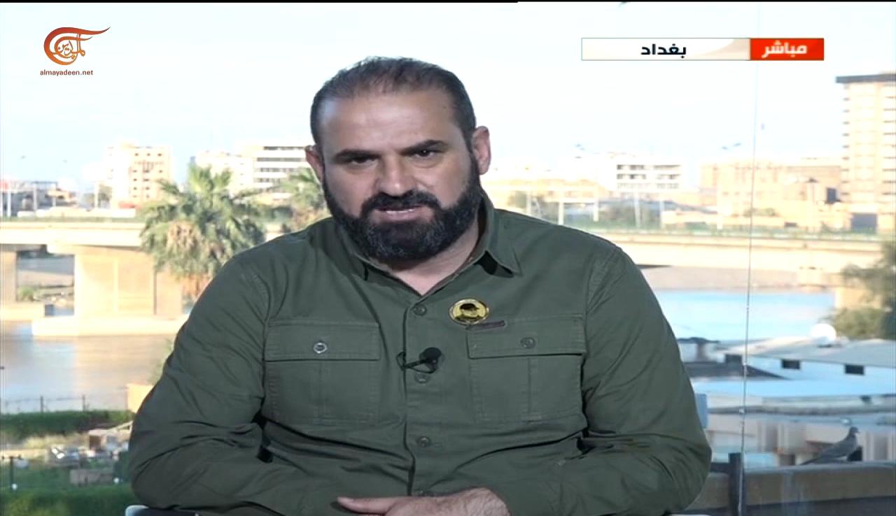 """العقابي للميادين: """"داعش"""" دخل من سوريا إلى العراق بتسهيل أميركي"""