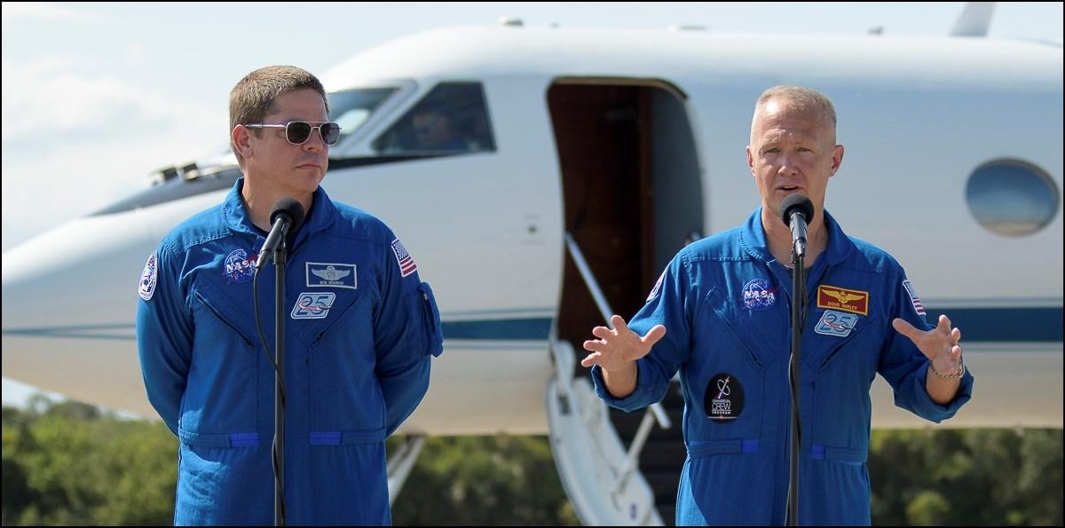 رائدا فضاء ينطلقان بعد أسبوع في أول رحلة أميركية مأهولة منذ 9 سنوات