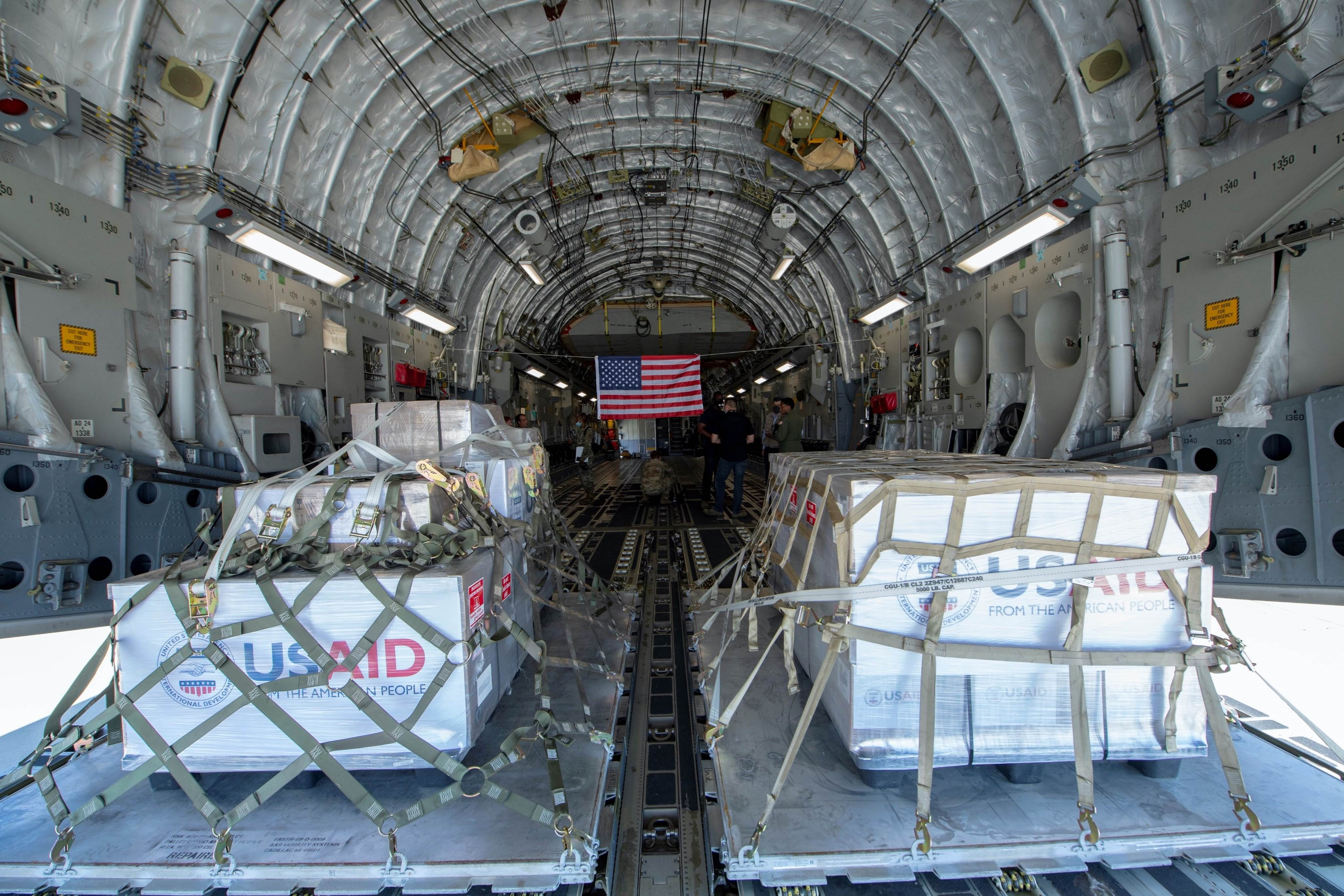 الولايات المتحدة تتبرع بـ200 جهاز للتنفس لروسيا رداً على مساعداتها