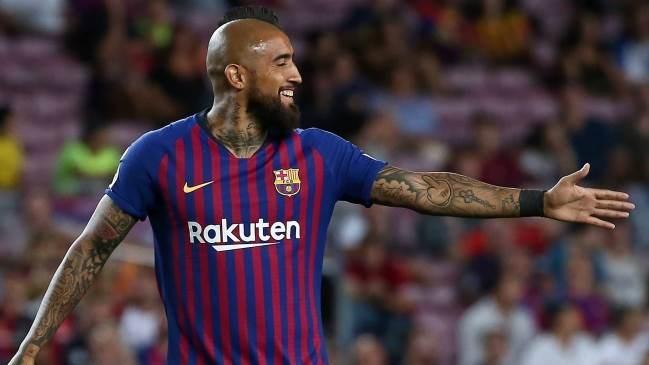 فيدال يريد الاستمرار مع برشلونة