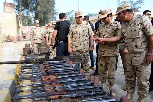 خططوا لهجمات في العيد..  مقتل 21 إرهابياً بشمال سيناء