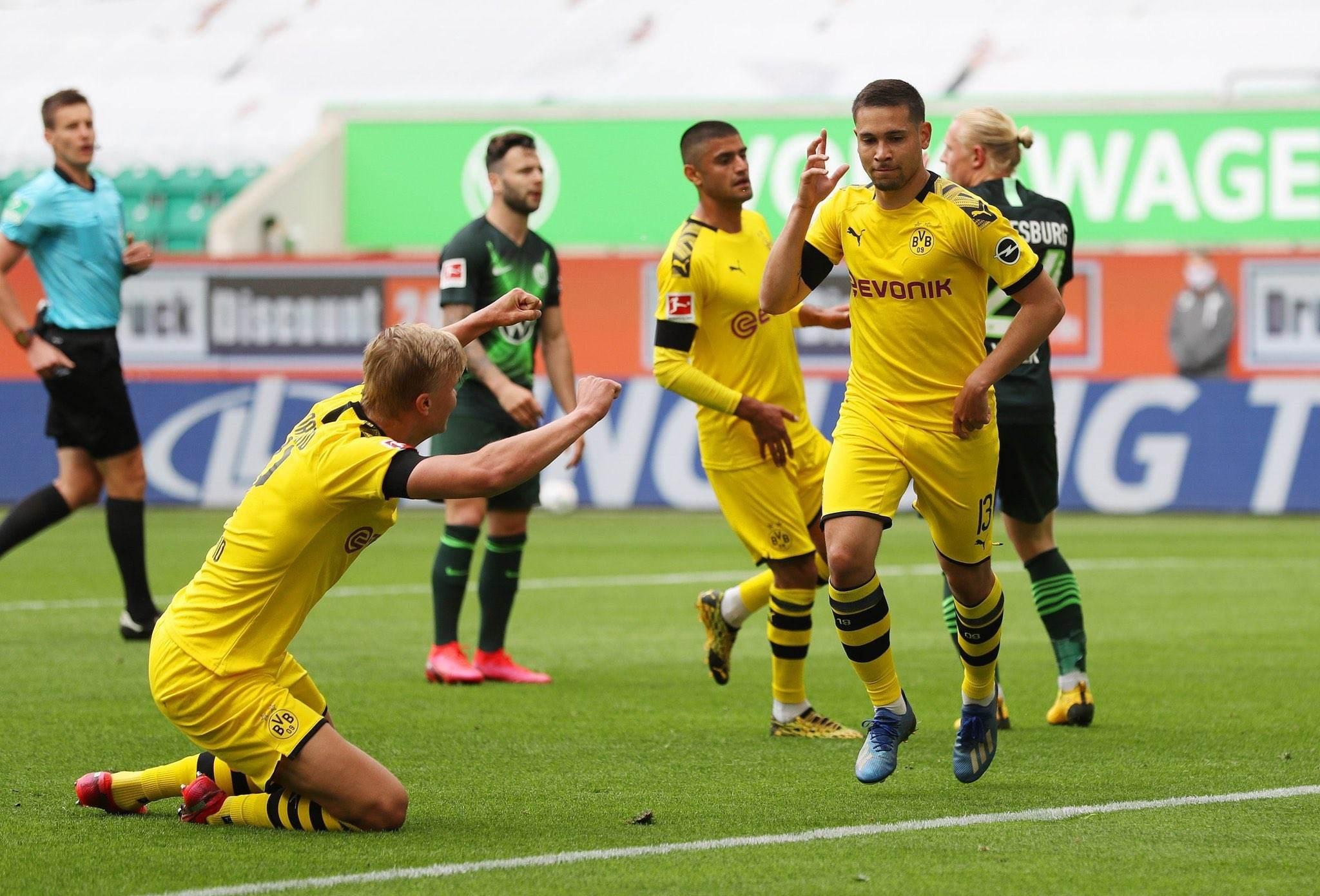 الدوري الألماني: دورتموند ينتصر وليفركوزن يخطف المركز الثالث