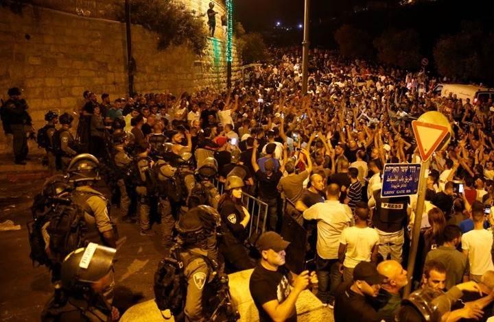 قوات الاحتلال تعتدي على الفلسطينيين في الضفة والقدس