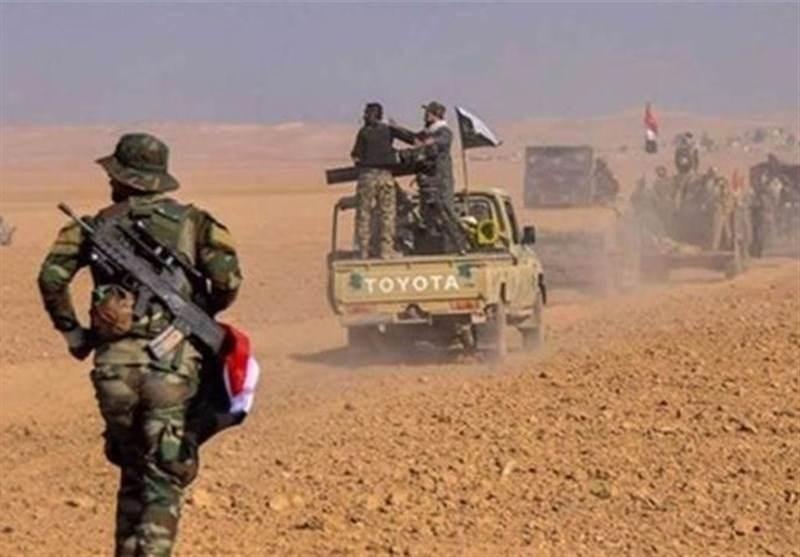 عملية أمنية شمال غرب تكريت للقضاء على فلول داعش