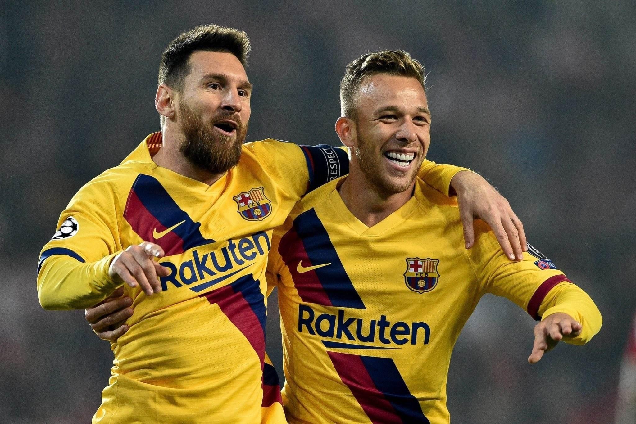 آرثر لا يريد مغادرة برشلونة!