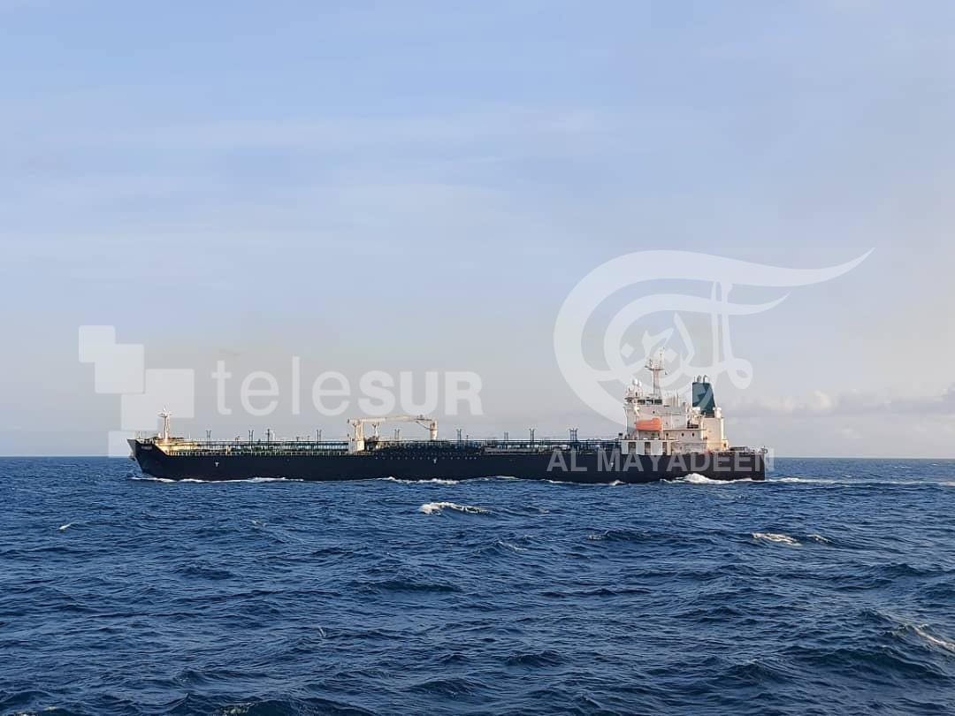 رسائل ناقلات النفط الإيرانية إلى فنزويلا