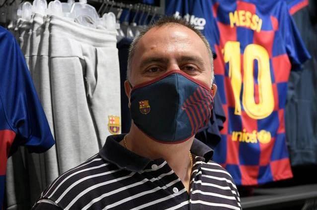 هذه مواصفات كمامة برشلونة