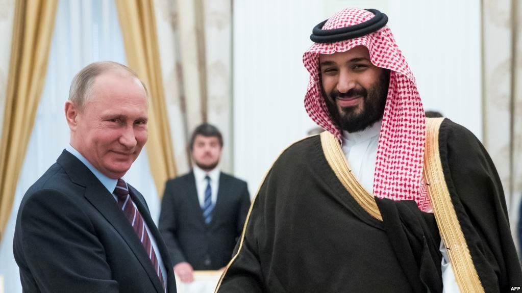 بوتين يناقش مع ولي العهد السعودي سوق النفط