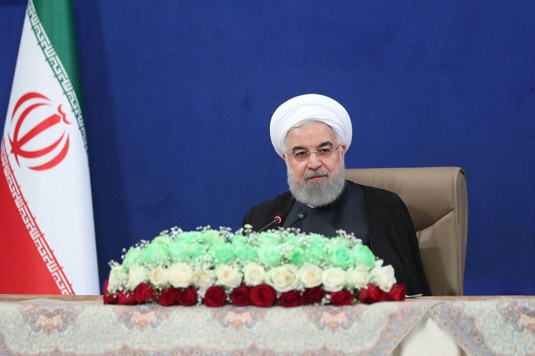 روحاني: لا شأن لأميركا في التجارة النفطية بين إيران وفنزويلا