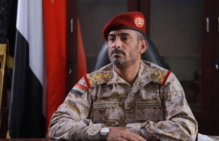 إصابة رئيس هيئة أركان قوات هادي ومقتل نجله في انفجار بمأرب