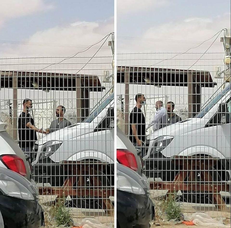 لحظة تحرره.. الاحتلال يعيد اعتقال الأسير عيسى العباسي