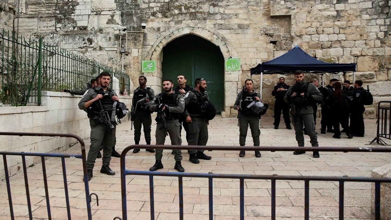 """""""حماس"""": منع الصلاة في الحرم الإبراهيمي انتهاك ممنهج"""