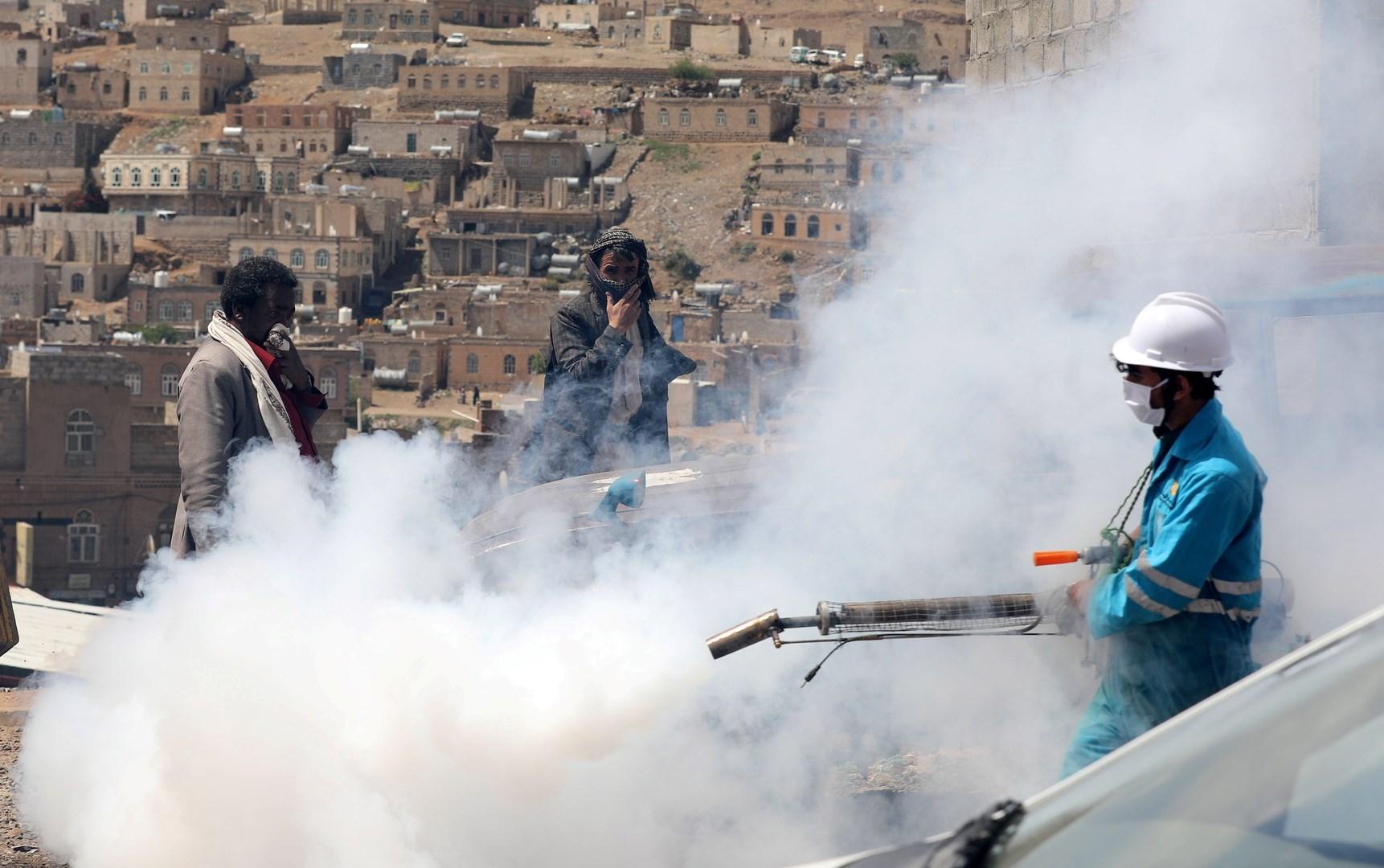 حكومة صنعاء: تقاعس أممي في تقديم العون لمواجهة كورونا
