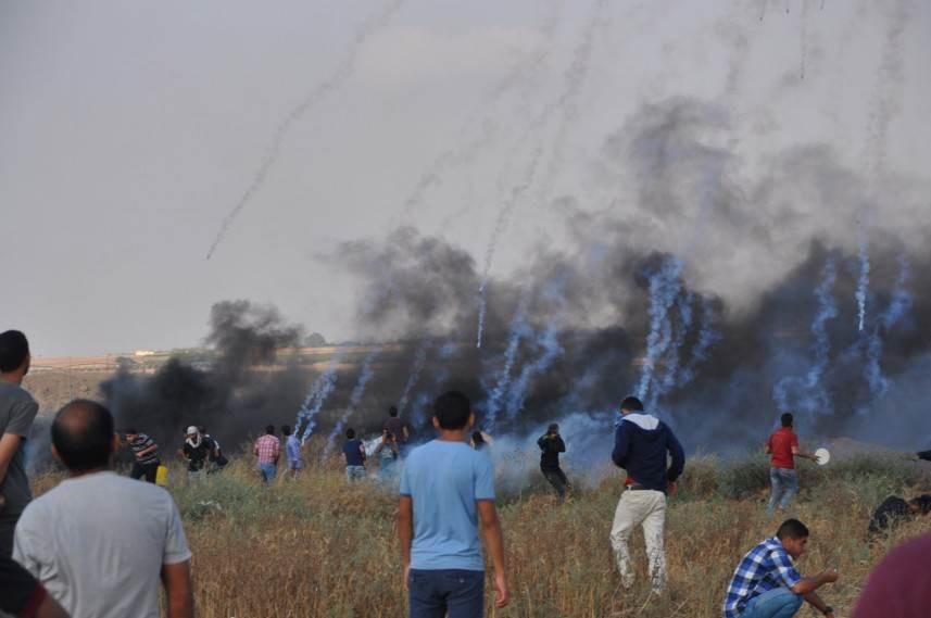 الفلسطينيون يتصدون لمحاولات اقتحام محيط بيت لحم
