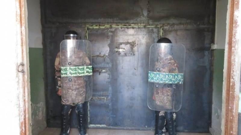 """عصيان جديد لمعتقلي """"داعش"""" لدى """"قسد"""" في سجن الثانوية الصناعية بمدينة الحسكة"""