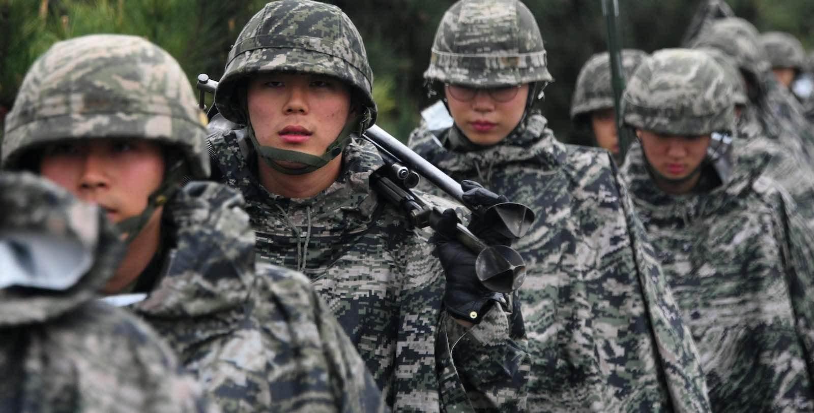 تبادل إطلاق نار على الحدود بين الكوريتين