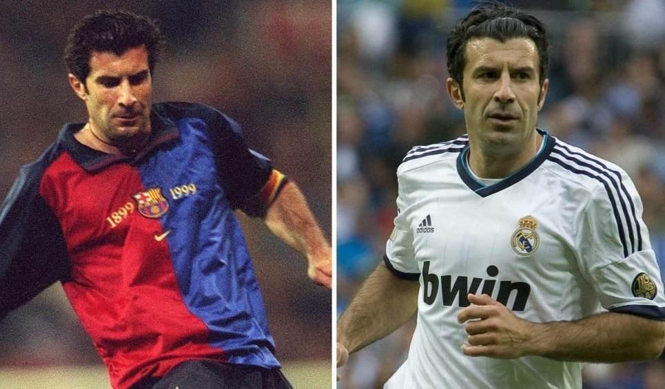 لماذا ترك فيغو برشلونة إلى ريال مدريد؟