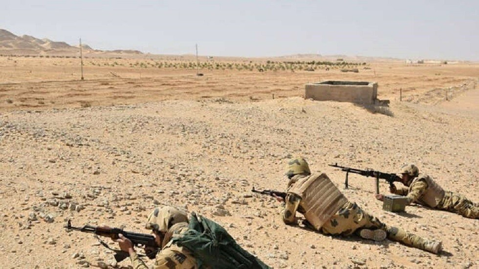 """الجيش المصري يعلن مقتل 19 عنصراً """"تكفيرياً"""" في سيناء"""