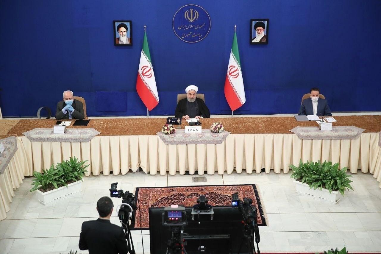 روحاني من قمة دول عدم الإنحياز: الإجراءات الأميركية عرقلت خططنا لمكافحة كورونا