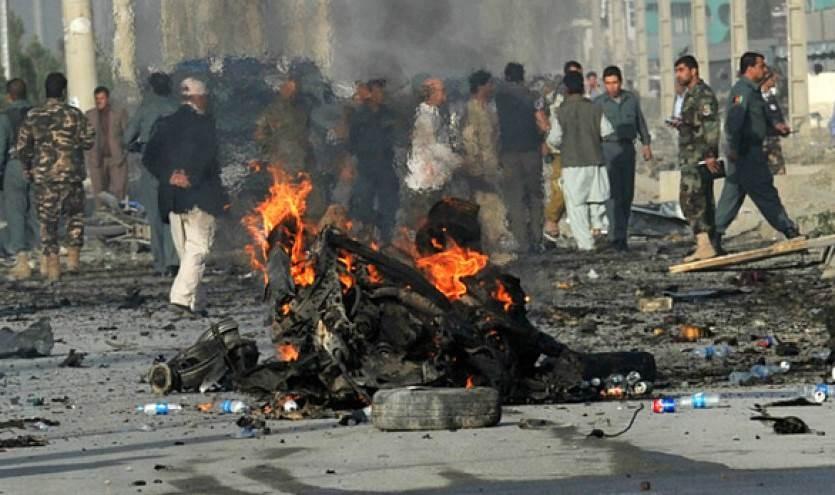 """""""طالبان"""" تستهدف مركزاً عسكرياً جنوب أفغانستان"""