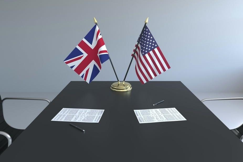 بريطانيا وأميركا تتفاوضان من أجل اتفاق تجاري جديد