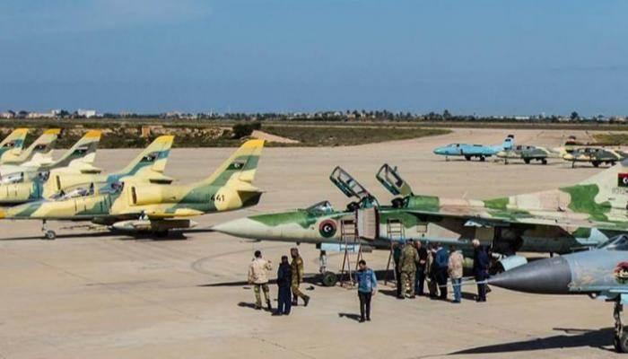 """الجيش الليبي التابع لحكومة الوفاق يقتحم قاعدة """"الوطية"""""""
