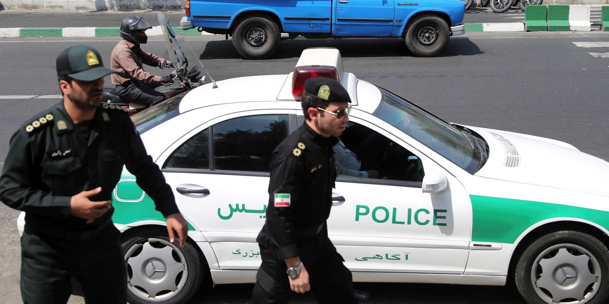 طهران: إلقاء القبض على خليتين إرهابيتين غرب البلاد