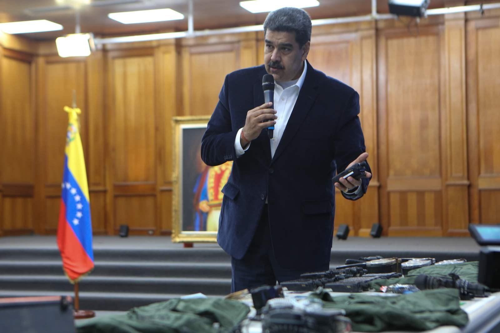 مادورو: الأميركيان المتوغلان في فنزويلا اعترفا بجرمهما وسيحاكمان