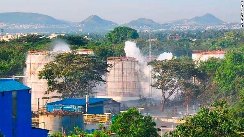 الهند: وفيات وأكثر من ألف إصابة جراء تسرب للغاز في مصنع كيميائي